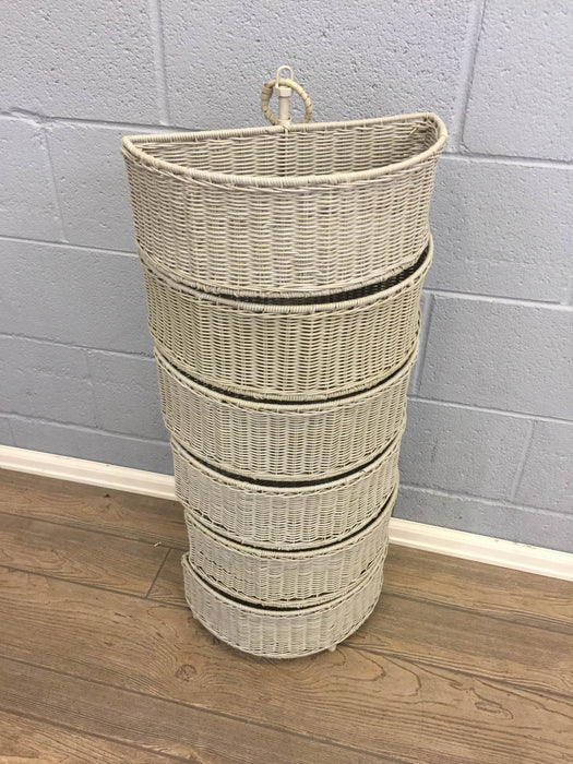 Wicker Basket Storage