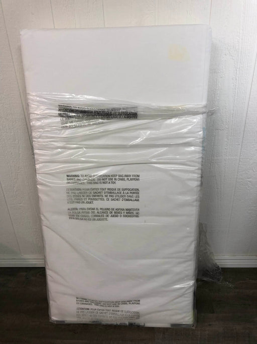 used Naturepedic Classic 150 Seamless 2-stage Organic Baby & Toddler Mattress
