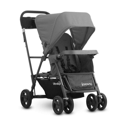 used Joovy Caboose Ultralight Stroller, 2018, Charcoal