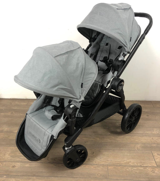 used Baby Jogger City Select Lux Double Stroller, Slate, 2018