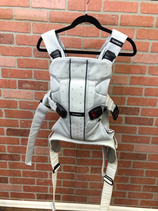 Baby Bjorn Baby Carrier One, Silver Mesh