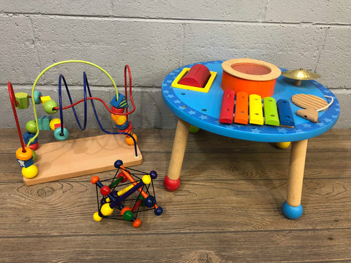 Small Wooden Table And Toys