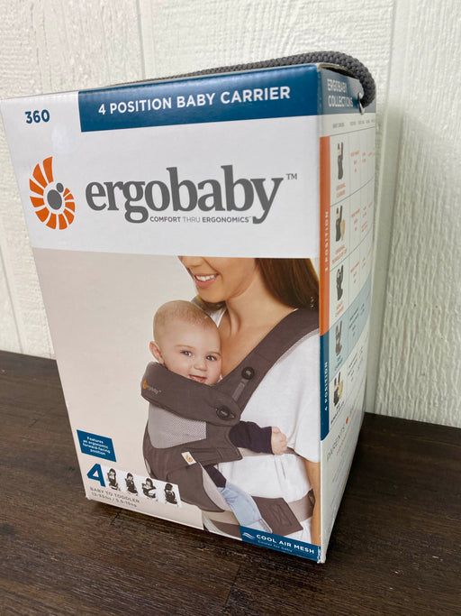 used Ergobaby 360 Four Position Ergonomic Baby Carrier