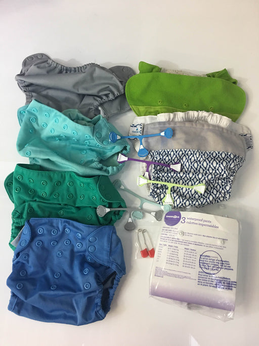 Bundle Cloth Diaper Covers And Fasteners (Set 2)