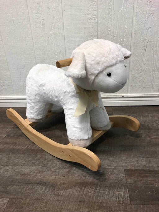 used Pottery Barn Kids Plush Animal Rocker