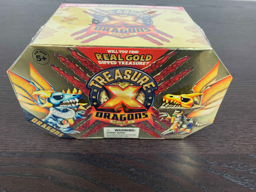 used Treasure X Quest Dragons Gold
