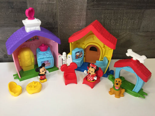 Fisher Price Disney Mickey And Minnie's House Playset By Little People