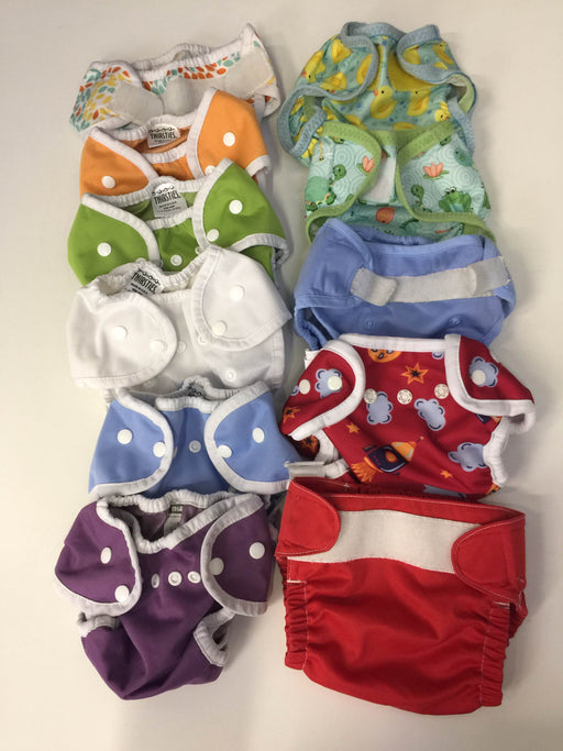 used BUNDLE Cloth Diapers And Covers