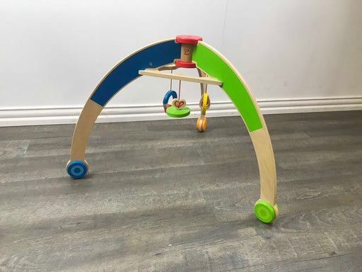 used Hape Wooden Baby Gym