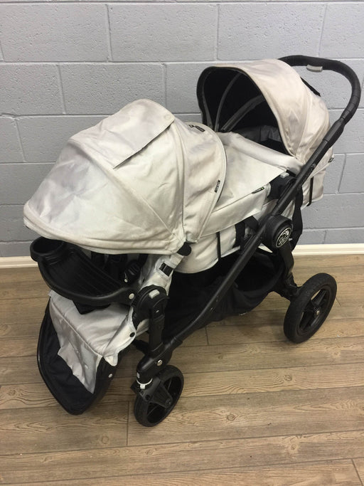 Baby Jogger City Select Double Stroller With caddy and adapters, 2014