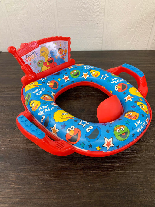 used Sesame Street Deluxe Soft Potty Seat