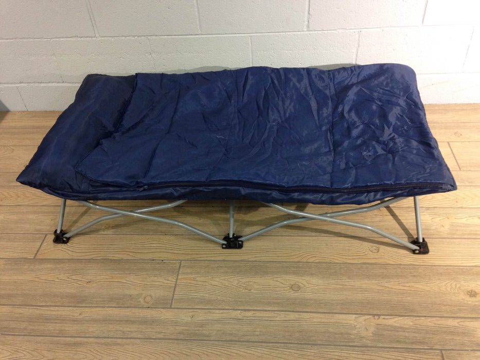 Regalo My Cot Portable Toddler Bed Includes Sleeping Bag And Travel Case