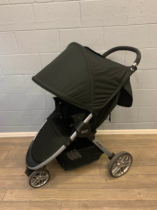 used Britax B-Agile Stroller with Bassinet, 2017