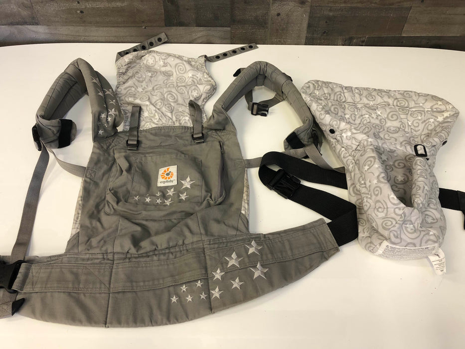 eb181c6e547 Ergobaby Original Bundle Of Joy Baby Carrier Galaxy Grey With Infant I —  Good Buy Gear