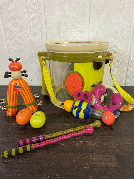 used B. Toys Bee Bop Band Play & Learn Drum and Instruments