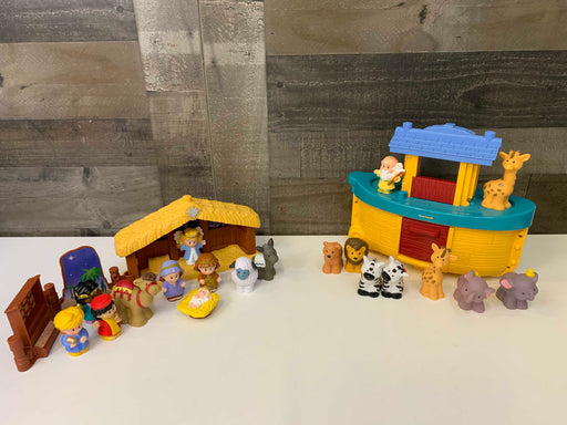 used Fisher Price Little People Noah's Ark