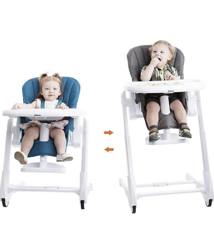 secondhand Joovy FooDoo High Chair Charcoal