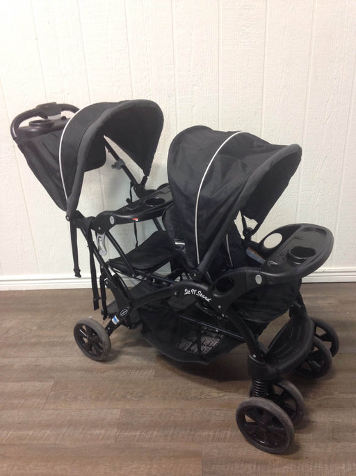 secondhand Baby Trend Sit N Stand Ultra Tandem Stroller