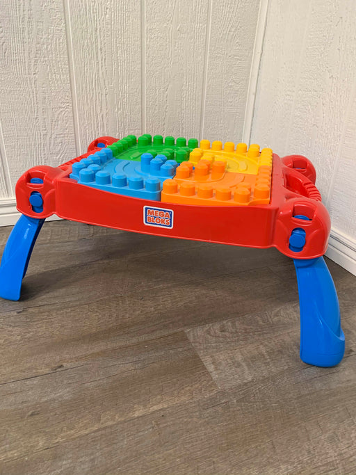 used Mega Bloks Build 'N Learn Table