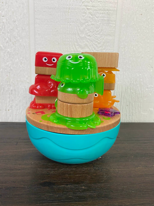 secondhand Fisher Price Wooden Deep Blue Sea Stacker