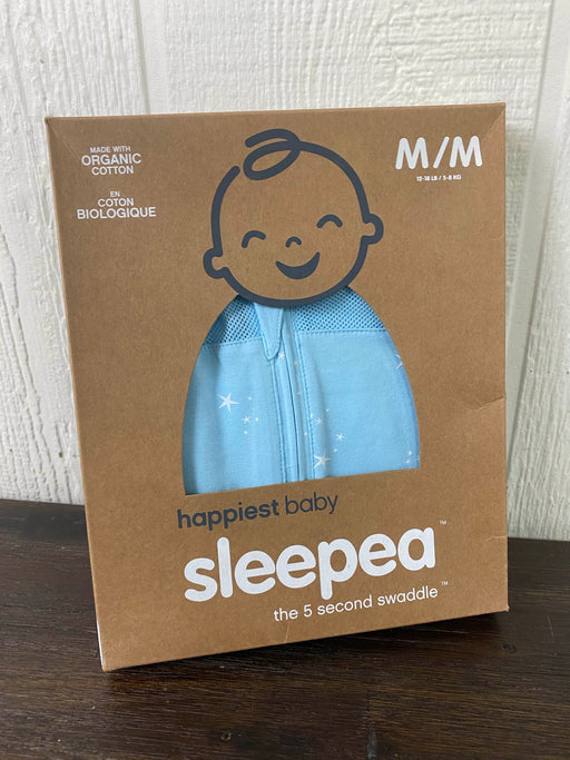used Happiest Baby Sleepea Swaddle M