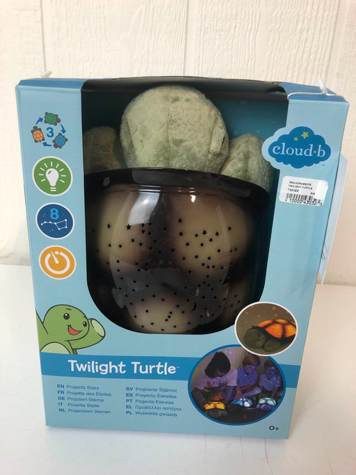 used Cloud b. Twilight Turtle Plush Night Light Projector