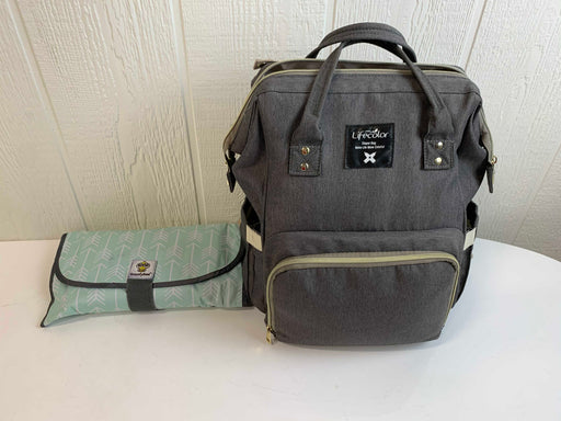 used BUNDLE Diaper Bag with Changing Pad
