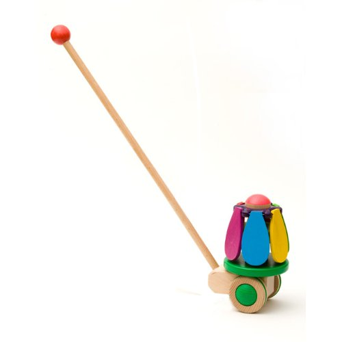 Bajo Flower Push Toy