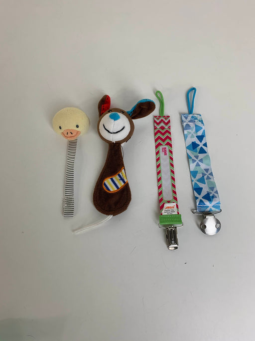used BUNDLE Pacifier Clips