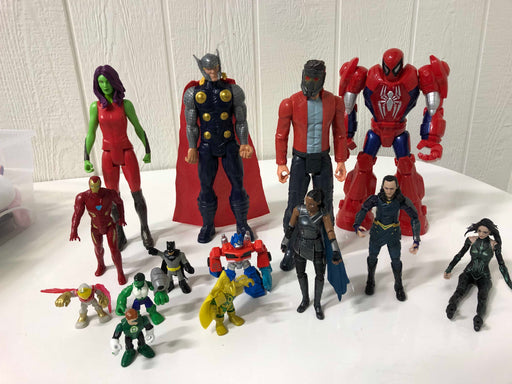 used BUNDLE Action Figures