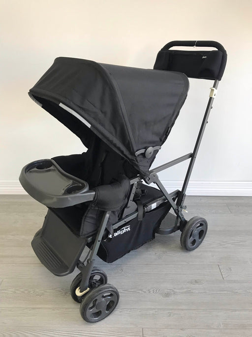 used Joovy Caboose Ultralight Stroller, 2018, Black