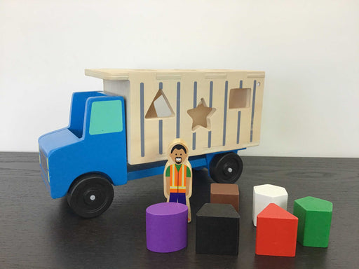 used Melissa & Doug Shape Sorting Dump Truck