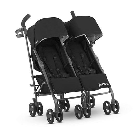 used Joovy TwinGroove Ultralight Double Stroller, 2018, Black