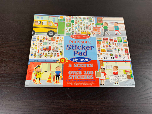 used Melissa & Doug Reusable Sticker Book