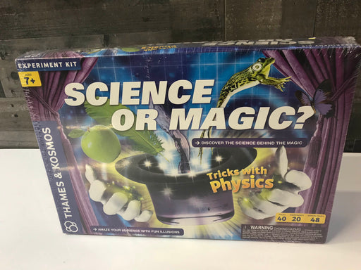 Thames And Cosmos Science Or Magic Science Kit