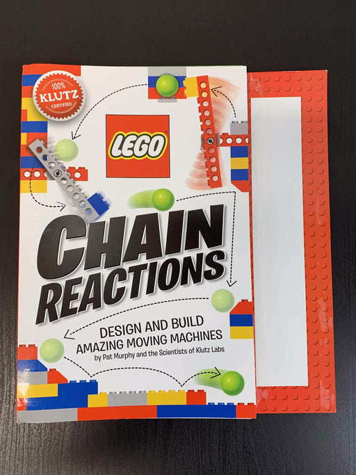 used Klutz LEGO Chain Reactions Kit
