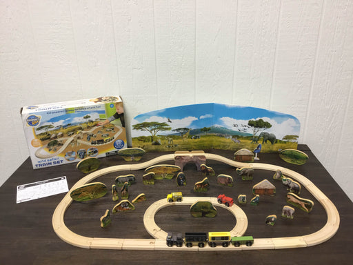 used Discovery kids Wild Safari Train Set