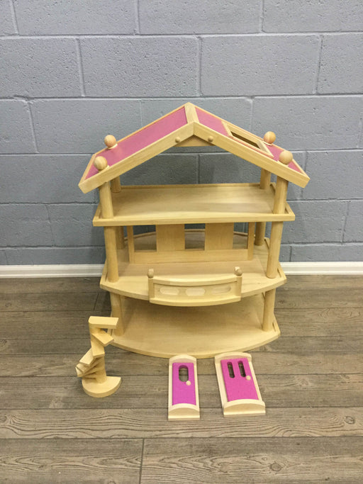 used Wooden Dollhouse