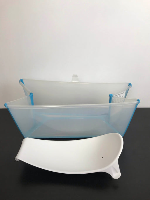 used Stokke Flexi Bath Foldable Baby Bathtub