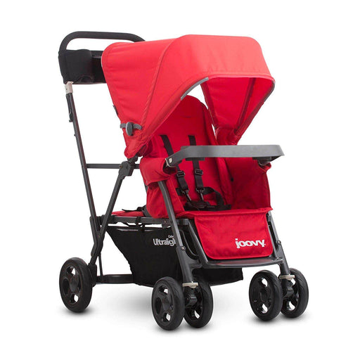 used Joovy Caboose Ultralight Stroller, 2017, Red