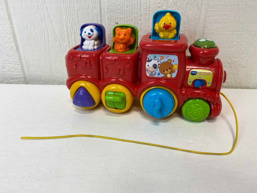 secondhand VTech Roll And Surprise Animal Train