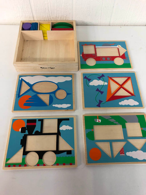 used Melissa & Doug Puzzle Bundle