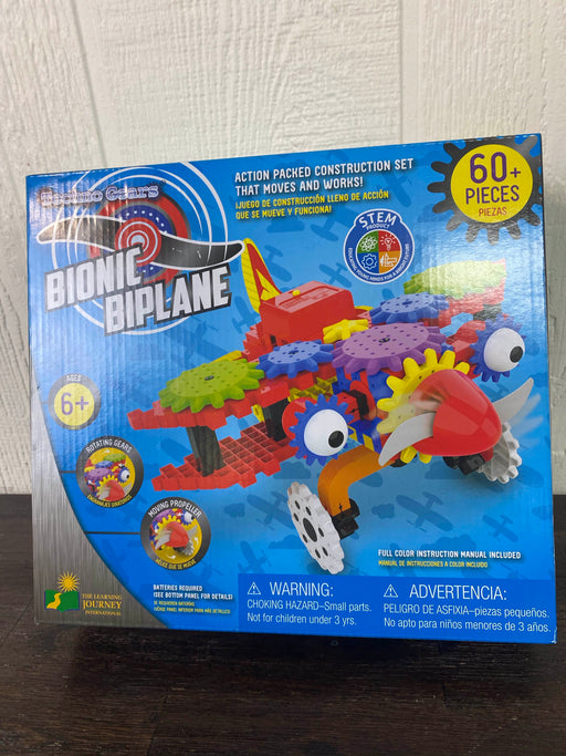 used Learning Journey Techno Gears Bionic Biplane