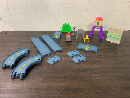 used Paw Patrol Marshall's Town Rescue Track Set