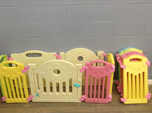 12-panel Baby Playpen Safety Play Center
