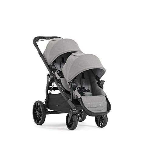 used Baby Jogger City Select Lux Double Stroller, Slate, 2019