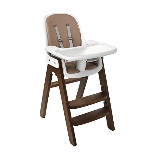 used Oxo Sprout High Chair, Taupe/Birch