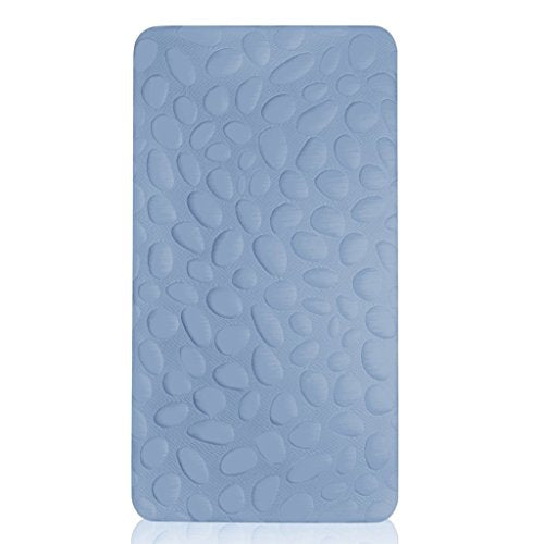 Nook Pebble Lite Crib Mattress, Sky