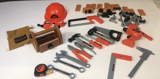 Black+Decker Deluxe Junior Tool Play Set
