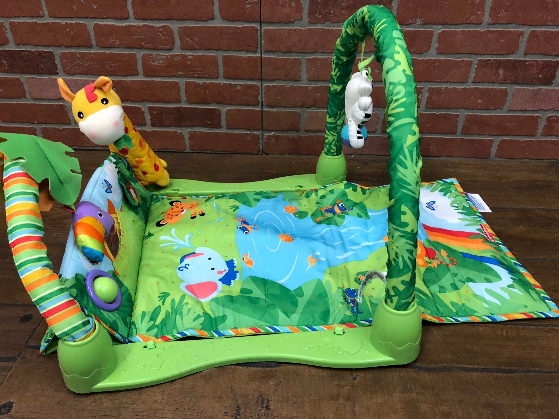 used Fisher Price Rainforest 1-2-3 Musical Gym